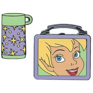 Disney Tinker Bell Pin - Lunchbox & Thermos