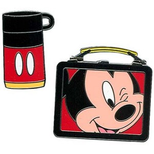 Disney Mickey Pin - Lunchbox & Thermos