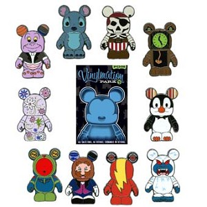 Disney Mystery Pin Set - Vinylmation Park #5 - Complete