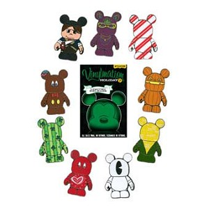 Disney Mystery Pin Set - Vinylmation Holiday #2 - 2 Random