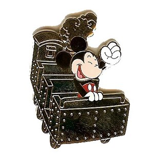 Disney Mystery Pin - Attraction Vehicles - Mickey Everest CHASER