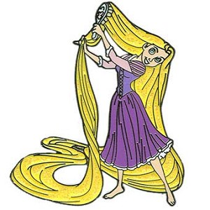 Disney Tangled Pin - Rapunzel