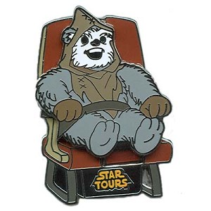 Disney Piece of Disney History Pin - Suprise Star Tours Ewok