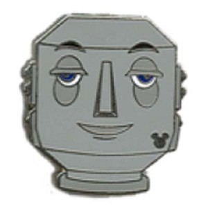Disney Hidden Mickey Pin - Retro Icons - Butler Robot