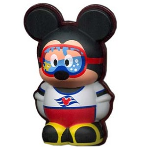 Disney Vinylmation Pin - 3D - Mickey Mouse Diving Mask