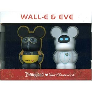 Disney Vinylmation Pin Set - 3D - Wall-E and Eve