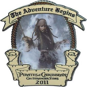 Disney Pirates Pin - On Stranger Tides - Opening Day