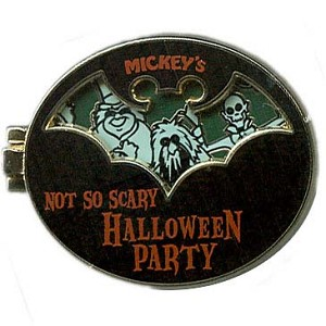 Disney Mickey's Not So Scary Halloween Party Pin - 2011 Ghosts Trio