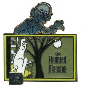 Disney 40th Anniversary Pin - The Haunted Mansion