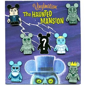 Disney Mystery Pin Set - Vinylmation The Haunted Mansion - 7 Pins