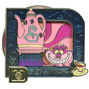Disney Classic D Collection Pin - Mad Tea Party - Cheshire