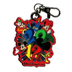 Disney Lanyard Medal - Dated 2012 - Walt Disney World