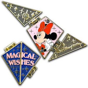 Disney Passholder Pin - 2012 Puzzle Set - Magical Wishes - Minnie
