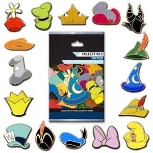 Disney Mystery Pin - Character Hats - Choice