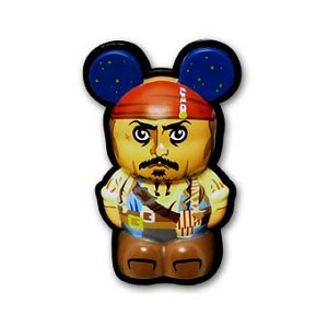 Disney Vinylmation Pin - 3D - Captain Jack Sparrow