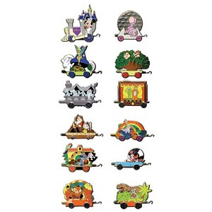 Disney Mystery Pins - Disney World Train - Choice