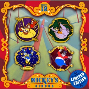 Disney Mickey's Circus Boxed Pin Set - High Wire Act