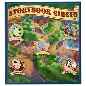 Disney Booster Pin Collection - Storybook Circus
