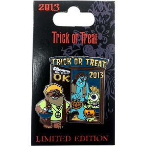 Disney Halloween Pin - Trick or Treat 2013 - Monsters Inc
