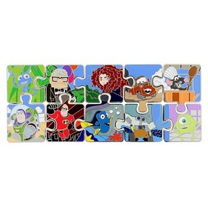 Disney Mystery Pin - Pixar Characters Puzzle Pin - Choice