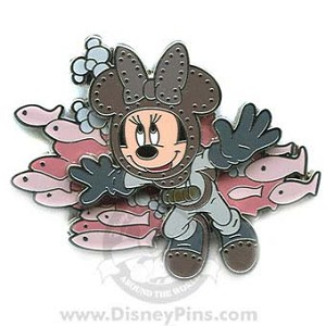 Disney Minnie Pin - 20,000 Leagues Under the Sea