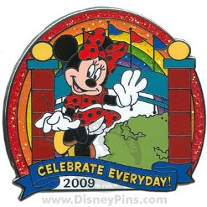 Disney Celebrate Everyday Pin - Minnie at Entrance
