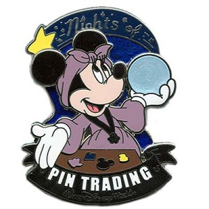 Disney Nights of Pin Trading - Fortune Teller Minnie Mouse