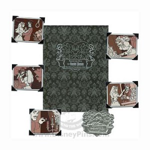Disney Boxed Pin Set - The Haunted Mansion - Wedding Album