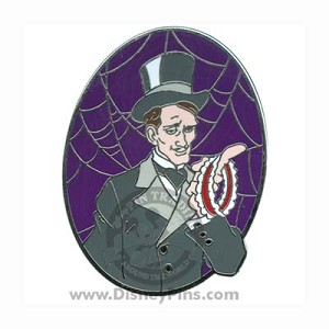 Disney The Haunted Mansion Pin - Friday the 13th - Frank