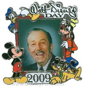 Walt Disney Day Pin - 2009