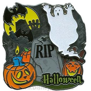 Disney Halloween Pin - 2009 - Ghost