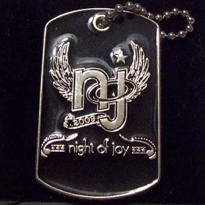 Disney Night of Joy Dog Tags Pin