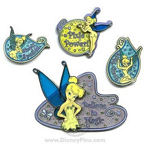 Disney Boxed Pin Set - Disney Signature Collection - Tinker Bell