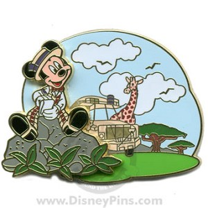 Disney The Scoop! Pin - Kilimanjaro Safaris Expedition