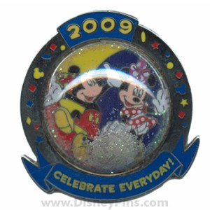 Disney Celebrate Everyday Pin - Mickey and Minnie