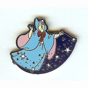 Disney Hidden Mickey Pin - Fairies - Fairy Godmother