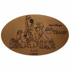Disney Pressed Penny - Lady and the Tramp - Group