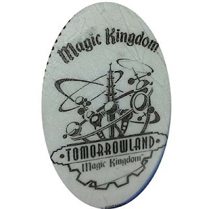 Disney Pressed Quarter - Tomorrowland Logo