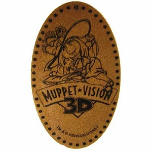Disney Pressed Penny - Muppet Vision 3D - Miss Piggy