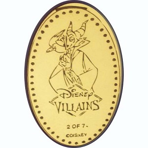Disney Pressed Penny - Villains - Maleficent