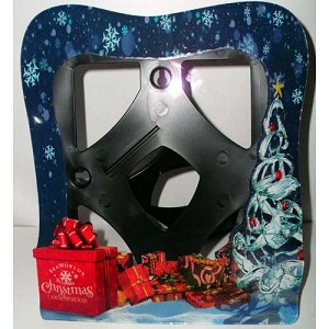 SeaWorld Picture Frame - Christmas Celebration - 6 x 8 Vertical