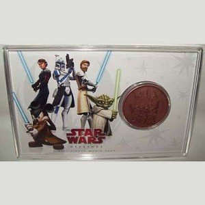 Disney Star Wars Coin - Weekends 2009 Copper