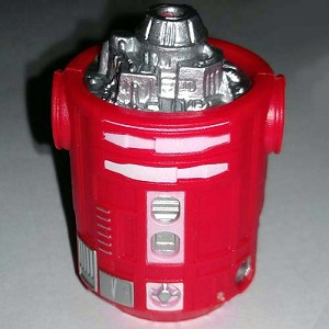Disney Star Wars Weekends Toy - Create A Droid - R2 Body Solid Red
