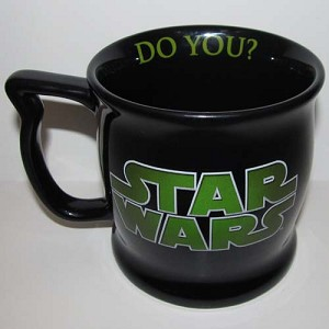 Disney Coffee Cup - Yoda Height Requirement