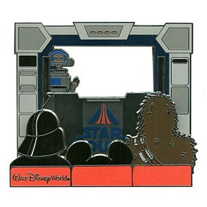 Disney Star Wars Weekends 2011 Jumbo Pin Piece of Star Tours History