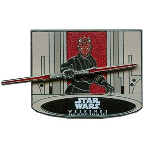 Disney Star Wars Weekends 2011 Pin Passholder Sith Lord Darth Maul