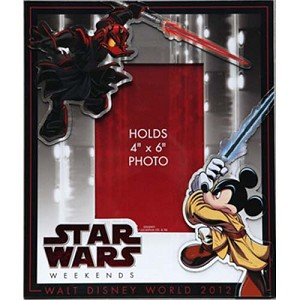 Disney Photo Frame - Star Wars Weekends 2012 Logo Darth Maul Donald