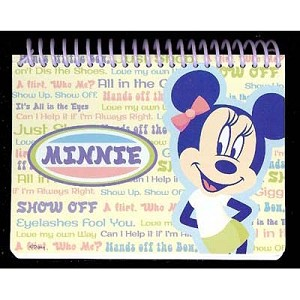 Disney Autograph Book - Minnie Mouse