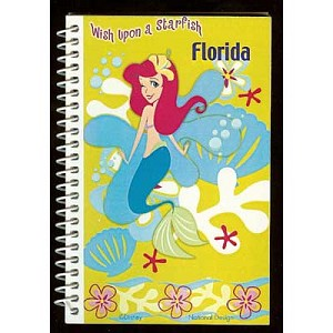 Disney Autograph Book and Pen - Ariel