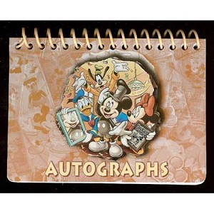 Disney Autograph Book - Mickey and Friends